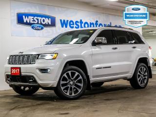 Used 2017 Jeep Grand Cherokee Overland+NAVIGATION+CAMERA+LEATHER+SUNROOF+REMOTE START for sale in Toronto, ON