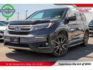 Used 2019 Honda Pilot Touring AWD 8 Passenger for sale in Whitby, ON