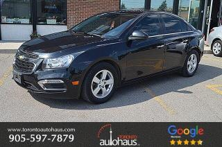 Used 2015 Chevrolet Cruze 2LT I LEATHER I SUNROOF I NO ACCIDENTS for sale in Concord, ON