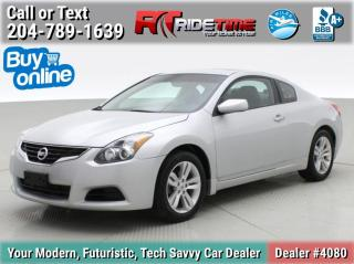 Used 2013 Nissan Altima 2.5 S for sale in Winnipeg, MB