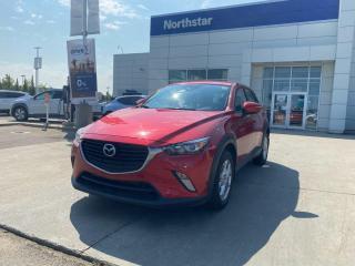 Used 2018 Mazda CX-3 GS AWD/LEATHER/SUNROOF/HEATEDSEATSSTEERING/BACKUPCAM/BLUETOOTH for sale in Edmonton, AB
