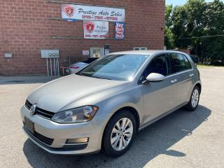 Used 2015 Volkswagen Golf Highline/1.8T/ONE OWNER/NO ACCIDENT/SAFETY INCLUDE for sale in Cambridge, ON