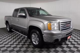 Used 2013 GMC Sierra 1500 SLT 5.3L V8   4X4   LEATHER   HEATED SEATS   SUNROOF   BACKUP CAMERA   TONNEAU COVER   CREW CAB for sale in Huntsville, ON