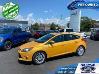 Used 2012 Ford Focus FOCUS TITANIUM  - One owner - Sunroof - $89 B/W for sale in Sturgeon Falls, ON