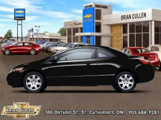 Used 2008 Honda Civic COUPE LX  AS-TRADED, AS-IS! YOU CERTIFY YOU SAVE! FINANCING NOT AVAILABLE ON AS-IS, AS-TRADED VEHICLES! for sale in St Catharines, ON