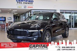 Used 2017 Porsche Cayenne S AWD*LEATHER*SUNROOF*NAV* for sale in Regina, SK
