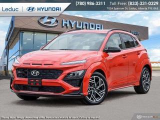 New 2022 Hyundai KONA N Line for sale in Leduc, AB