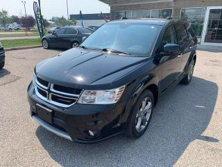 Used 2015 Dodge Journey R/T LEATHER BACKUP CAMERA AWD for sale in Calgary, AB