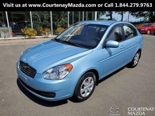 Used 2010 Hyundai Accent 4Dr GL 5sp for sale in Courtenay, BC