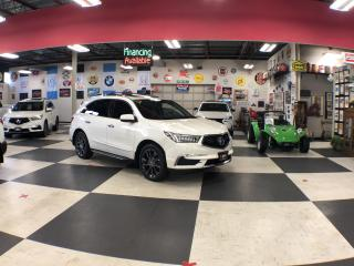 Used 2017 Acura MDX TECH 7 PASS NAVI AWD LEATHER SUNROOF CAMERA 89K for sale in North York, ON