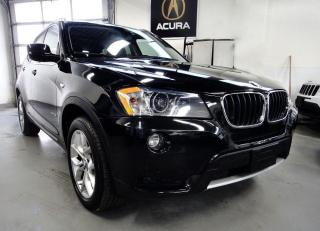Used 2013 BMW X3 PANO ROOF,NAVI,NO ACCIDENT,BACK CAM for sale in North York, ON
