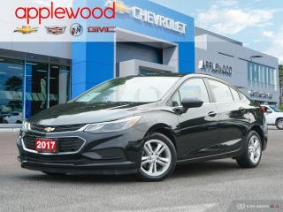 Used 2017 Chevrolet Cruze LT Auto SUNROOF, BOSE SPEAKERS, REAR CAMERA for sale in Mississauga, ON
