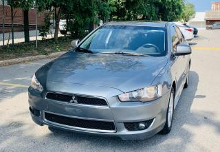 Used 2013 Mitsubishi Lancer 10Th for sale in Scarborough, ON