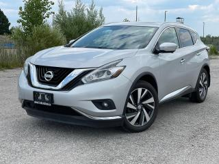 Used 2015 Nissan Murano Platinum AWD|Navi|Roof|Remote start|360 camera| for sale in Bolton, ON