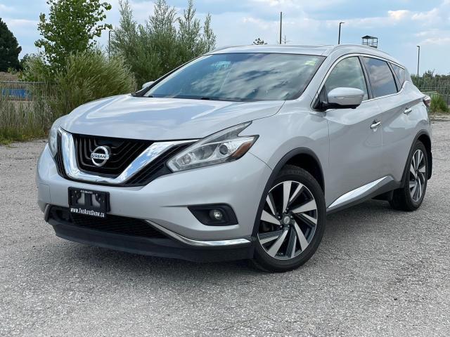 2015 Nissan Murano Platinum AWD|Navi|Roof|Remote start|360 camera|