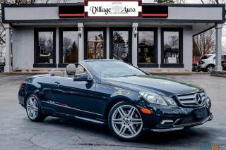 Used 2012 Mercedes-Benz E-Class E 350 cabriolet for sale in Ancaster, ON