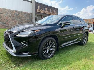 Used 2017 Lexus RX 450h F-SPORT 3 NAVI PANO ROOF 360 VIEW CAM HUD for sale in North York, ON
