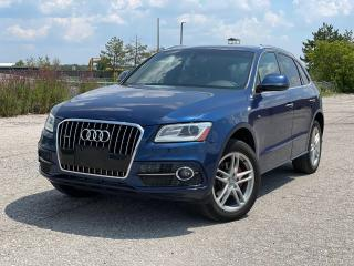 Used 2016 Audi Q5 2.0T|AWD|S-LINE|Navi|Camera|Pano roof| for sale in Bolton, ON