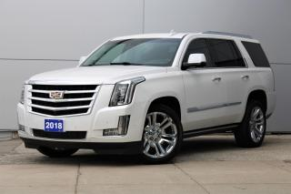 Used 2018 Cadillac Escalade Premium Luxury **Navigation/Sunroof/Heated Leather** for sale in Toronto, ON