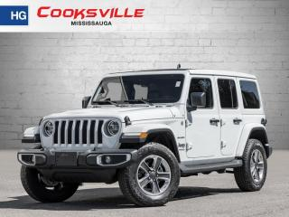 Used 2020 Jeep Wrangler Unlimited Sahara, SKY ROOF, LEATHER, ALPINE AUDIO, TECH PKG for sale in Mississauga, ON