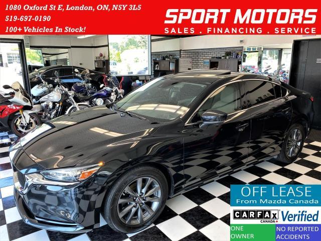 2018 Mazda MAZDA6 GS-L+LaneKeep+BSM+Adaptive Cruise+GPS+CLEAN CARFAX