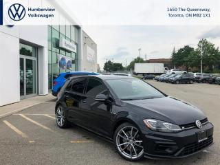 Used 2018 Volkswagen Golf R 2.0 TSI DRIVER ASSISTANCE PKG OFF LEASE CPO for sale in Toronto, ON