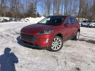 New 2021 Ford Escape Titanium TITANIUM ELITE PKG|HEATED SEATS|NAV for sale in Barrie, ON