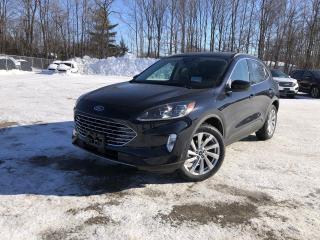 New 2021 Ford Escape Titanium Hybrid ELITE PKG|NAV|HEATED SEATS|TOW PKG for sale in Barrie, ON