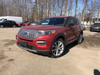 New 2021 Ford Explorer Platinum NAVIGATION  LEATHER  B&O AUDIO SYSTEM for sale in Barrie, ON