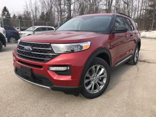 New 2021 Ford Explorer XLT DEMO MOONROOF TOW for sale in Barrie, ON