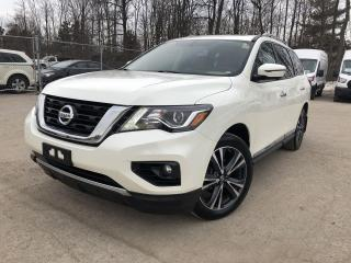 Used 2018 Nissan Pathfinder Platinum LEATHER|SUNROOF|REAR ENTERTAINMENT|BOSE AUDIO for sale in Barrie, ON