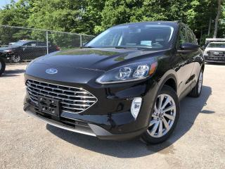 New 2021 Ford Escape Titanium SYNC3|LEATHER|ELITE|COPILOT360 for sale in Barrie, ON