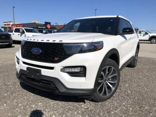 New 2021 Ford Explorer ST SYNC3 LEATHER TECH SUNROOF COPILOT360 for sale in Barrie, ON