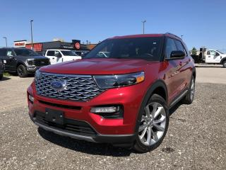 New 2021 Ford Explorer Platinum SYNC3 LEATHER COPILOT360 NAVIGATION for sale in Barrie, ON