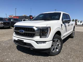 New 2021 Ford F-150 Platinum SYNC4|LEATHER|SUNROOF|COPILOT360|FX4|TOW for sale in Barrie, ON