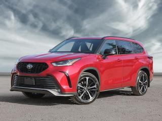 New 2021 Toyota Highlander XSE for sale in Georgetown, ON