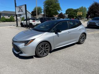 Used 2021 Toyota Corolla Hatchback CVT for sale in Goderich, ON