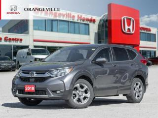 Used 2018 Honda CR-V EX-L BACKUP CAM|LANE WATCH|SUNROOF|LEATHER|AWD for sale in Orangeville, ON