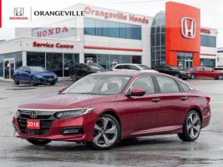 Used 2018 Honda Accord Touring NAV BACKUP CAM LEATHER SUNROOF VENTED SEATS for sale in Orangeville, ON