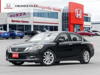 Used 2015 Honda Accord Touring NAV BACKUP CAM LANE WATCH SUNROOF LEATHER for sale in Orangeville, ON