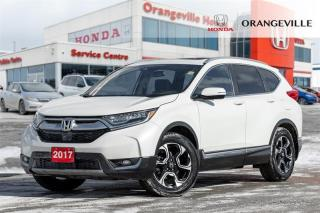 Used 2017 Honda CR-V Touring NAV|BACKUP CAM|PANO ROOF|LEATHER|AWD for sale in Orangeville, ON