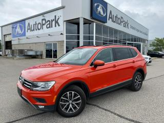 Used 2019 Volkswagen Tiguan Comfortline | HEATED LEATHER SEATS | SUNROOF | APPLE CARPLAY & ANDROID AUTO | BACKUP CAMERA | for sale in Innisfil, ON