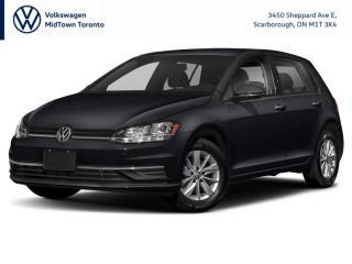 New 2021 Volkswagen Golf COMFORTLINE for sale in Scarborough, ON