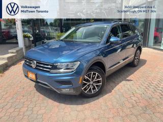 Used 2019 Volkswagen Tiguan COMFORTLINE for sale in Scarborough, ON