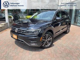 Used 2018 Volkswagen Tiguan Highline for sale in Scarborough, ON