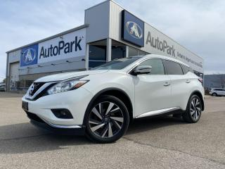 Used 2016 Nissan Murano Platinum | REMOTE START | BLIND-SPOT DETECTION | MOONROOF | ADAPTIVE CRUISE CONTROL | for sale in Innisfil, ON