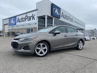 Used 2019 Chevrolet Cruze Premier | REMOTE START | FRONT HEATED SEATS & HEATED STEERING | SATELLITE RADIO | for sale in Innisfil, ON