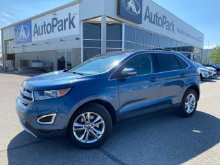 Used 2018 Ford Edge SEL   HEATED LEATHER SEATS   SUNROOF   APPLE CARPLAY & ANDROID AUTO   BACKUP CAMERA   for sale in Innisfil, ON