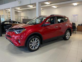 Used 2017 Toyota RAV4 Limited | HEATED SEATS | SUNROOF | BLUETOOTH | BACKUP CAMERA | for sale in Innisfil, ON