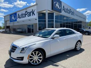 Used 2017 Cadillac ATS 2.0L Turbo Luxury   HEATED LEATHER SEATS   HEATED STEERING WHEEL   APPLE CARPLAY   BACKUP CAMERA   for sale in Innisfil, ON